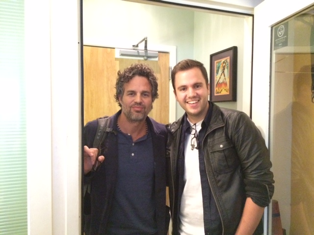 Mark Ruffalo and Jake Bolles