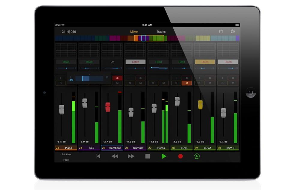 Avid's Pro Tools | Control for iPad.