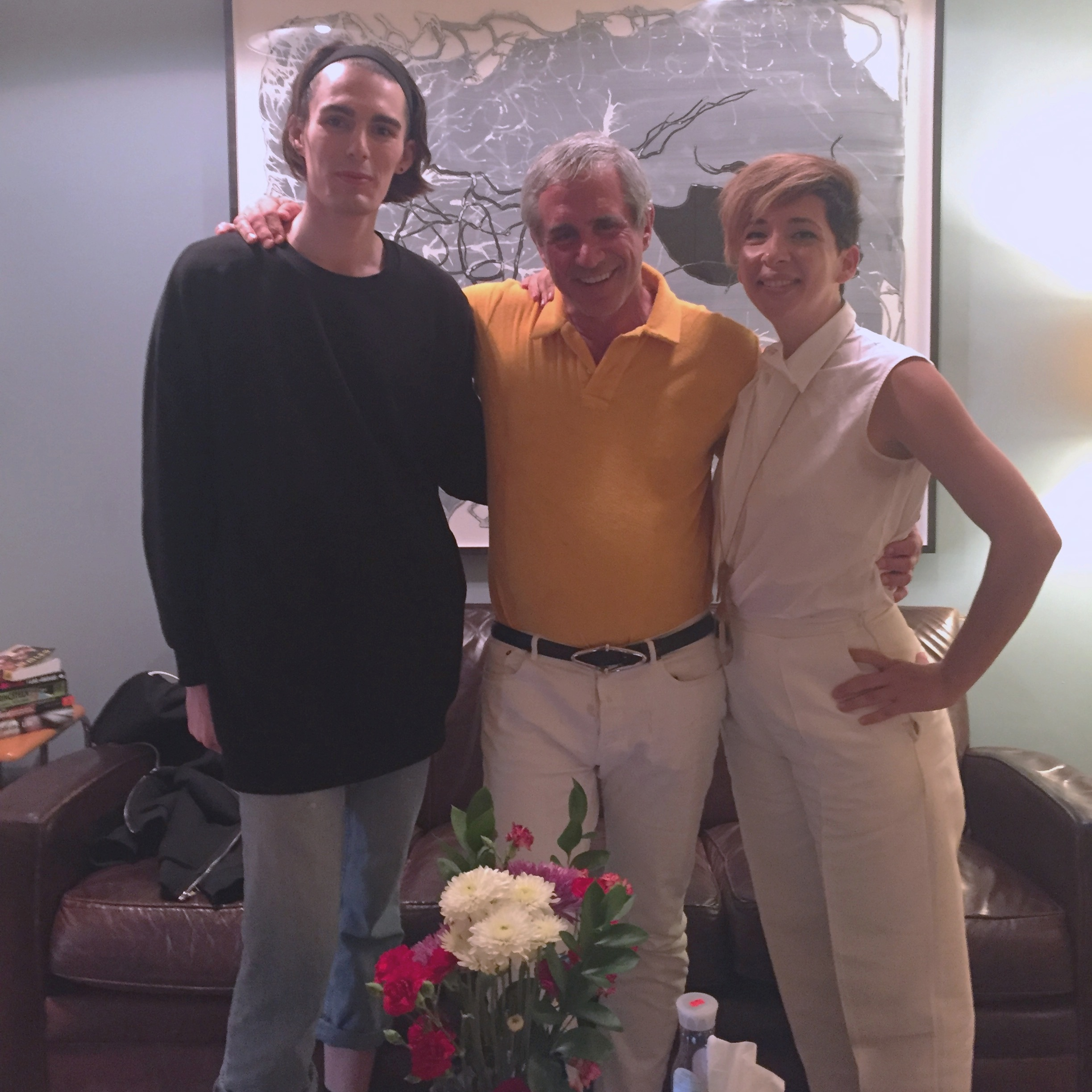 From left: Violette Furton, Dennis Freedman, and Shirine Saad.