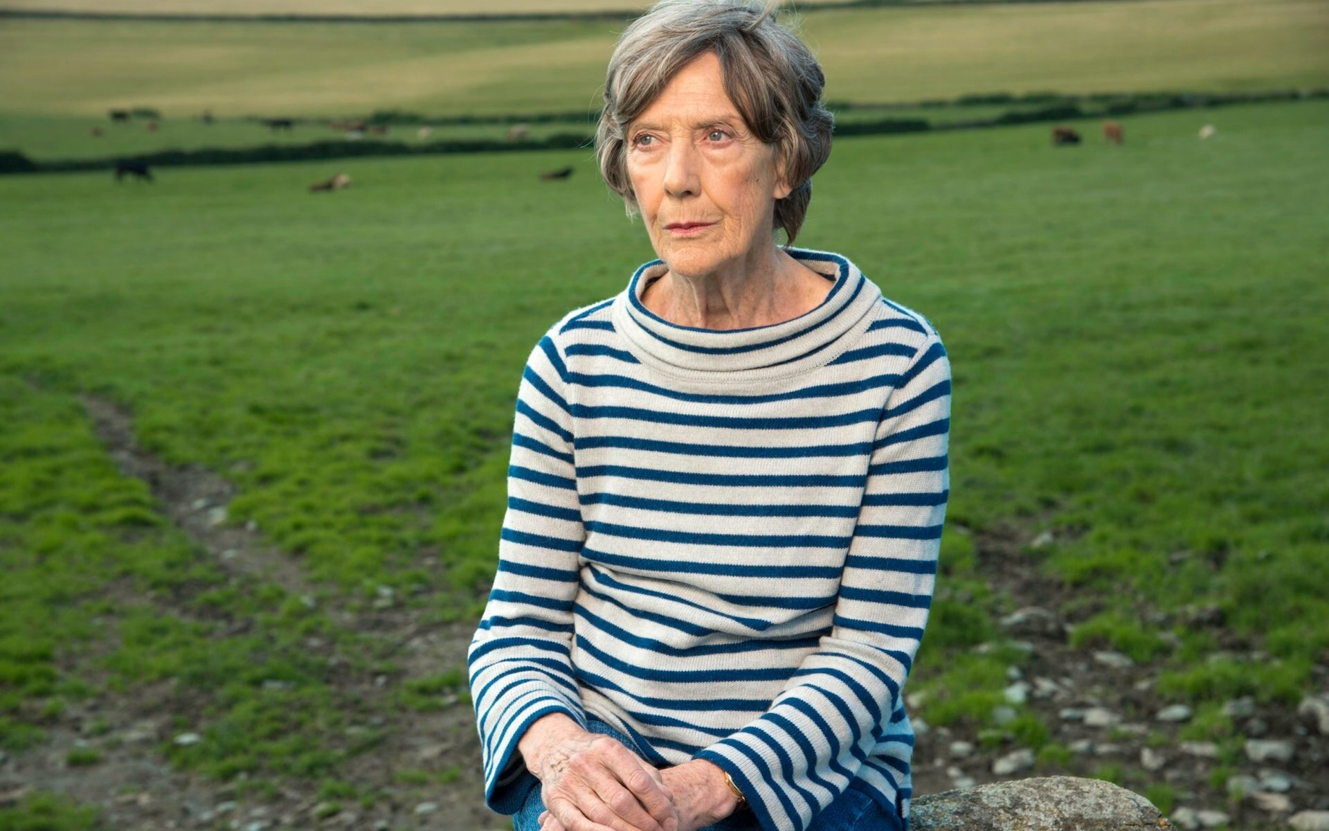 Dame Eileen Atkins, courtesy Neil Genower.