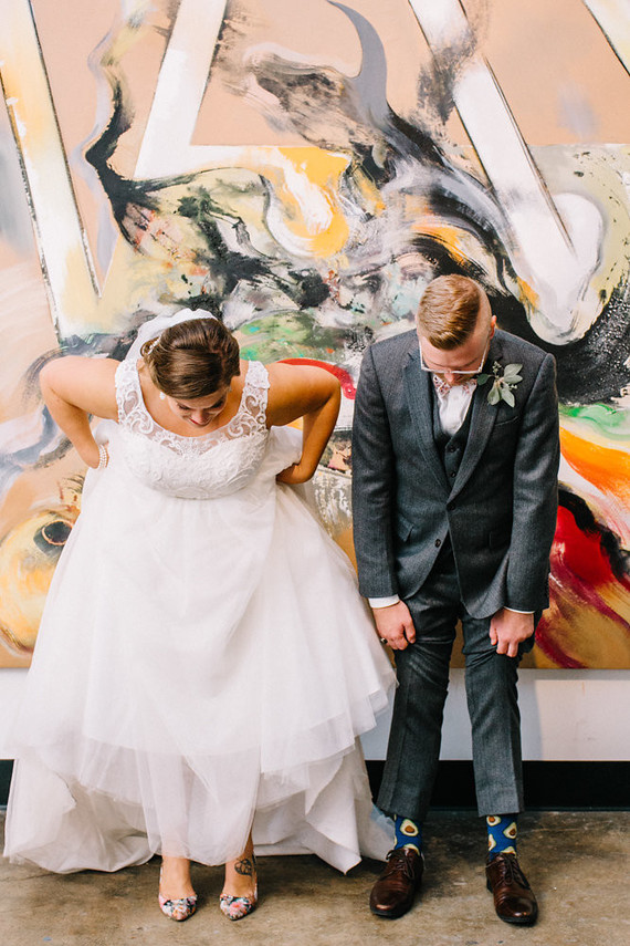 This modern and artistic wedding was a perfect blend of their creativity; which encompassed every angle of their love for each. Every design element was created by these two: Meet the Healeys!