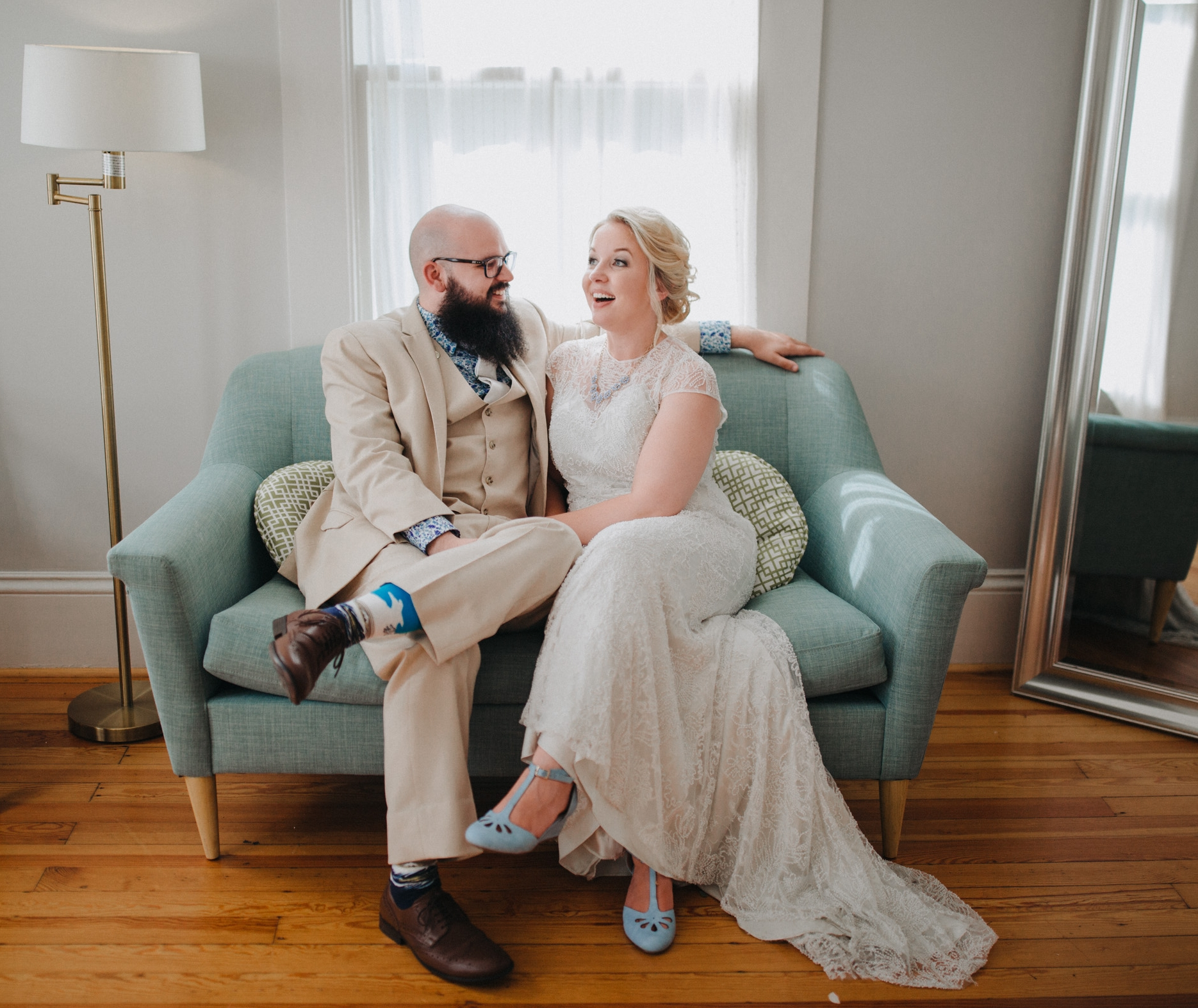 This southern charm wedding truly brought to life the love that can be shared amongst family and friends as any true southerner would… In the summer breeze on the front porch! Take a peek at all the southern details that were captured - Meet the Morrells!