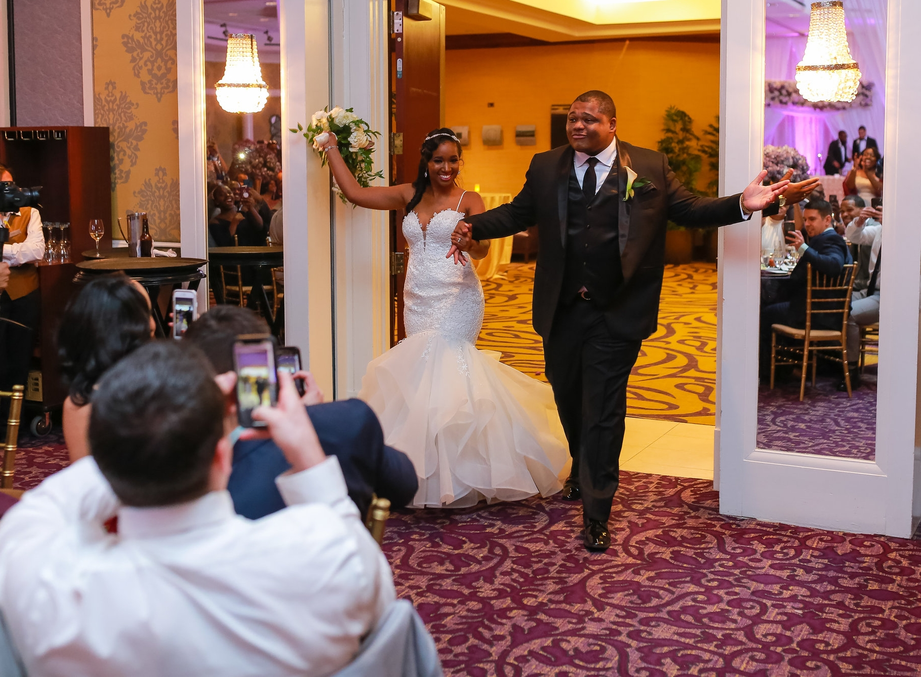 These college sweethearts allowed their Bahamian and American cultures to unite just as their hearts would during this breathtaking wedding. Meet the Pritchards!!