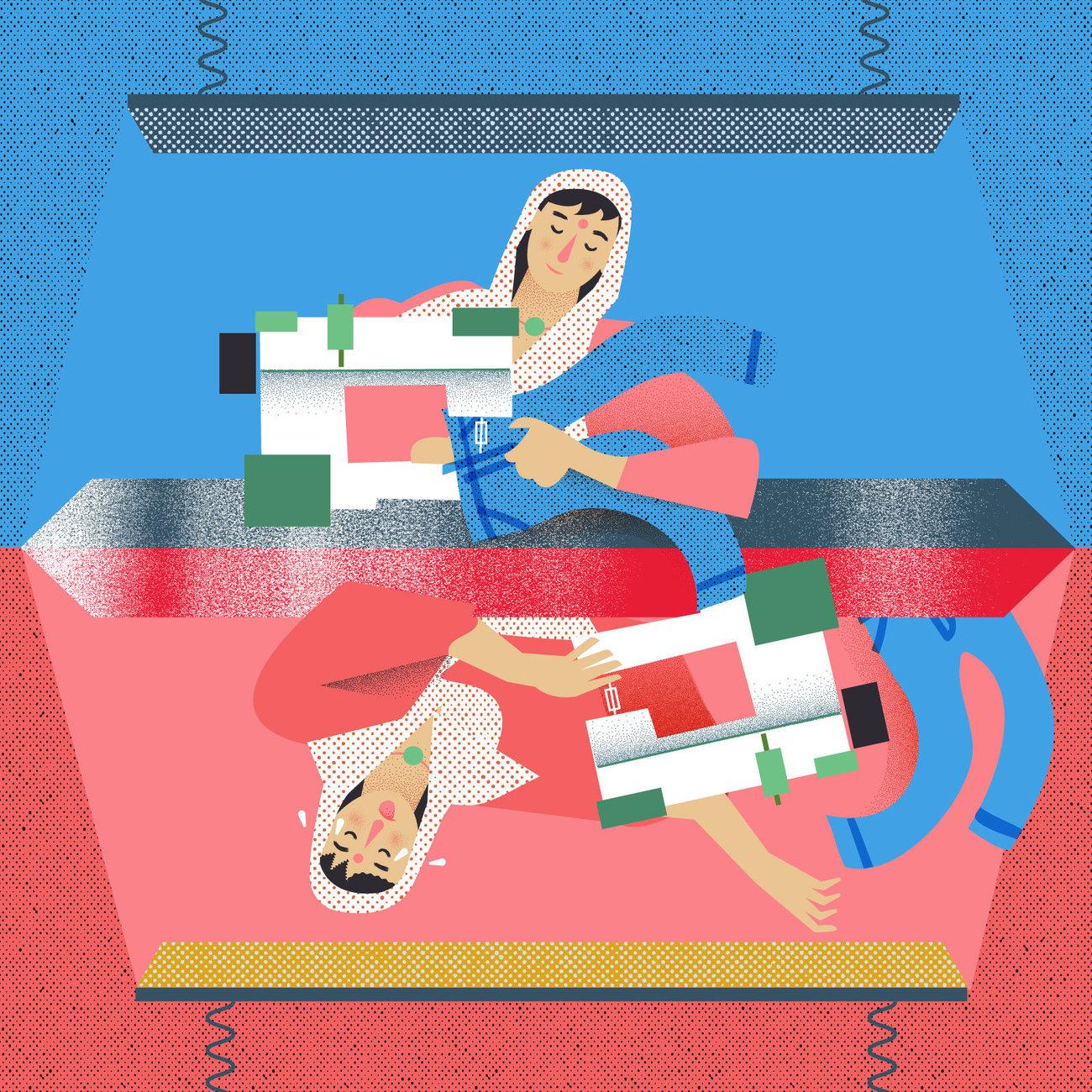 illustration by Francesco Zorzi for NPR