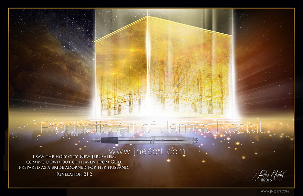 New Jerusalem — Products 3 – Prophetic Art of James Nesbit