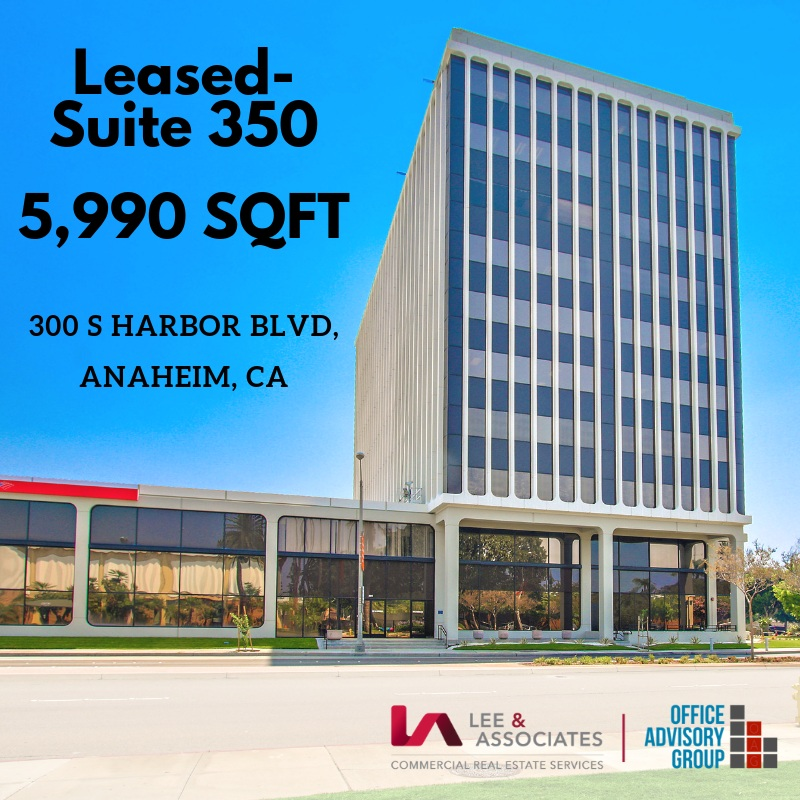 Suite 350- Leased