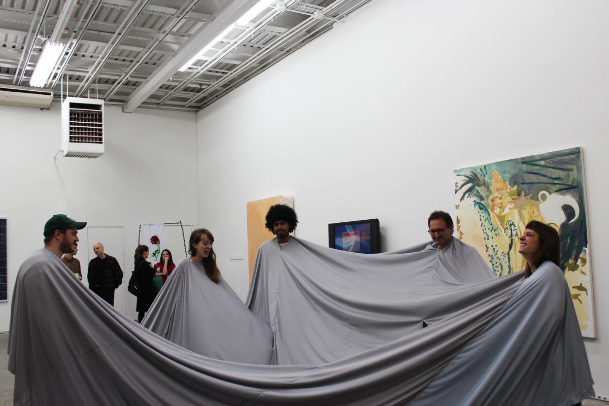 Divider, revisited  (at White Box, NY), 2013