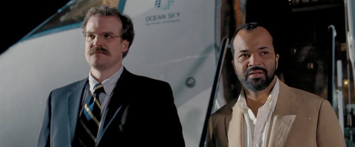 Also, I am entertained to no end by the sparring relationship between CIA odd couple Felix Lieter and Gregory Beam.