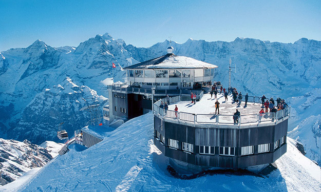 Or maybe I just included  OHMSS  so I could brag about how I visited  Piz Gloria , Blofeld's mountaintop lair in the film, on a study abroad trip to Switzerland.