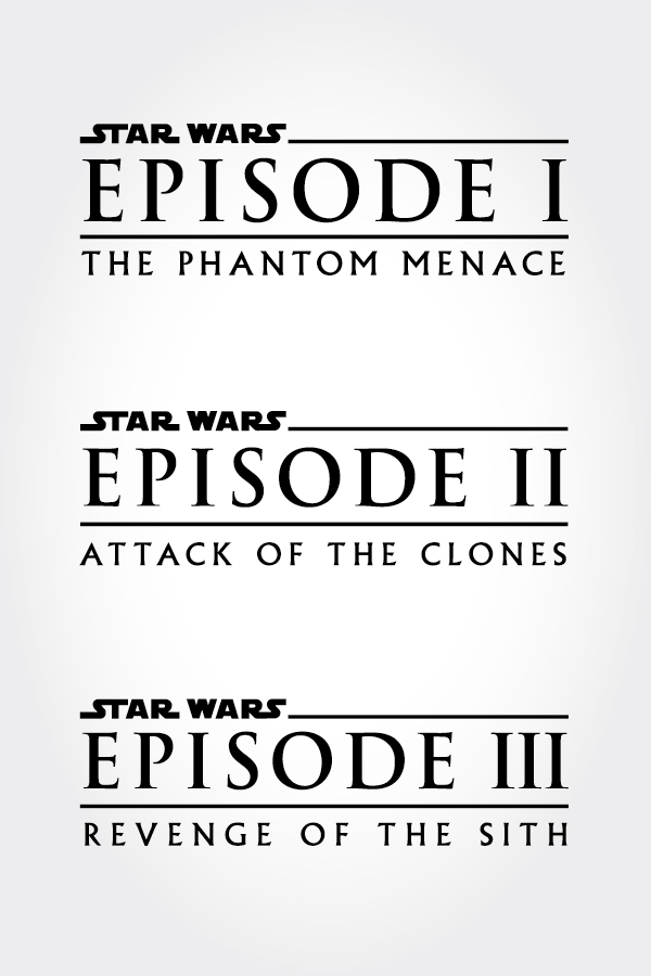 The Typography Of Star Wars Macguffin Goods