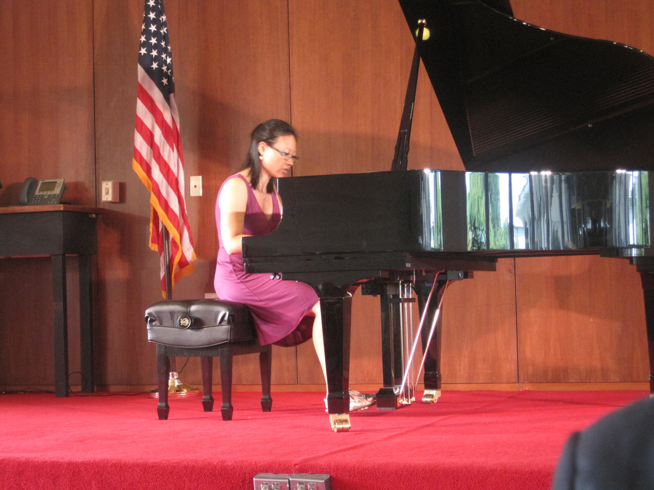 Clara Yang performs music by ontemporary Chinese/American composer Phil Young