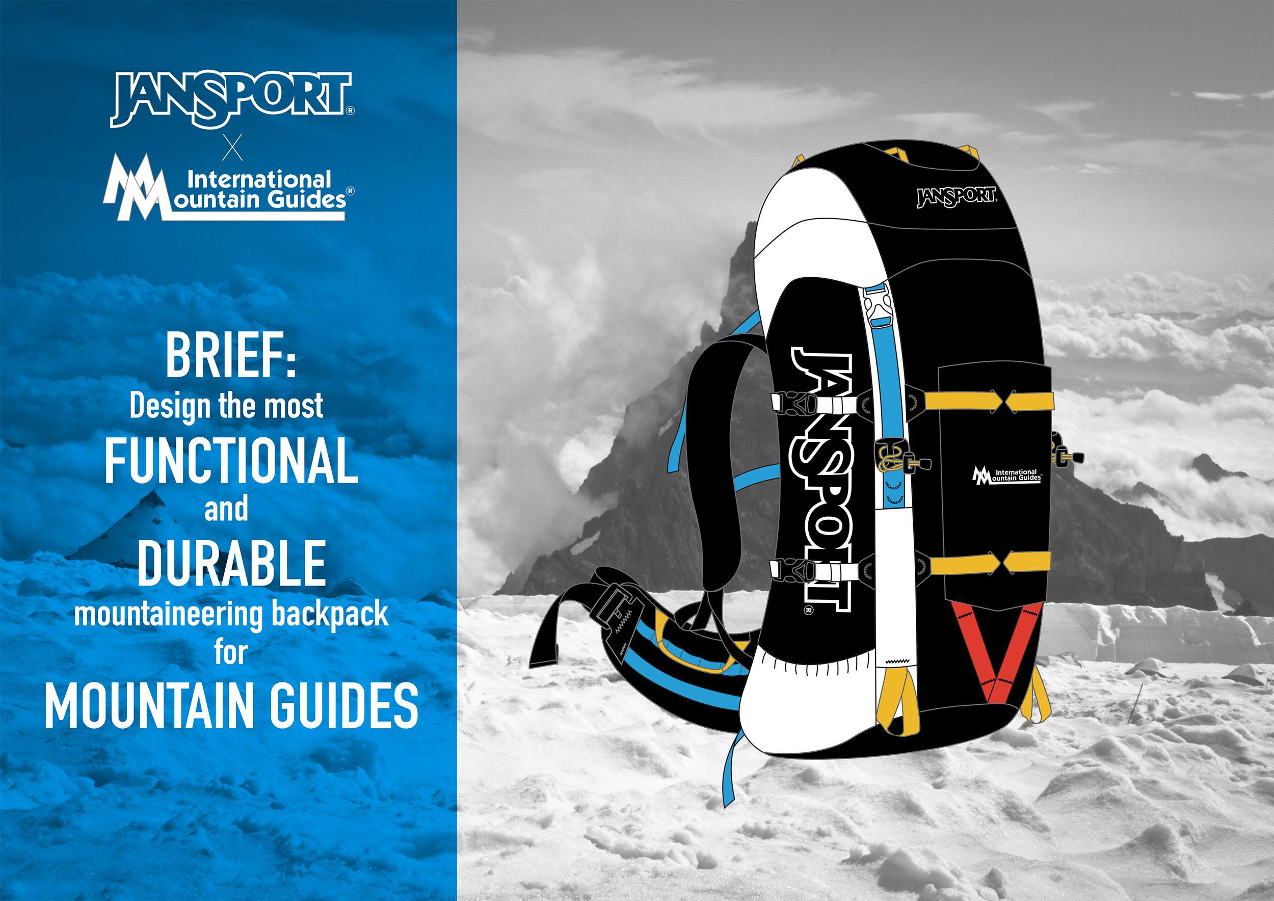 International Mountain Guides Backpack Design
