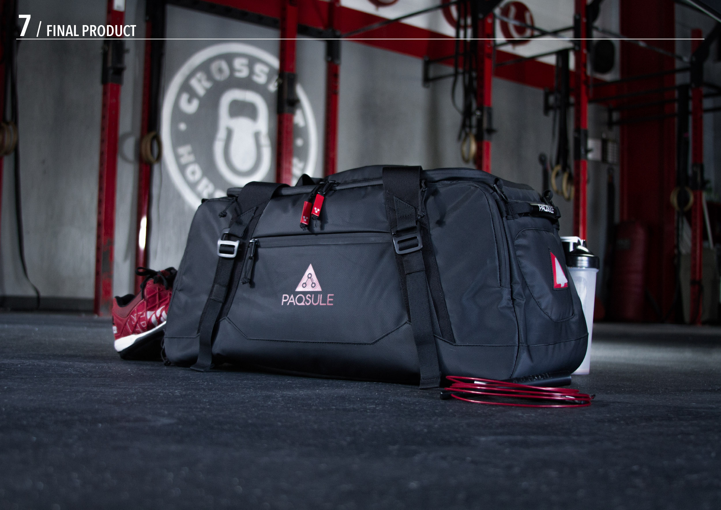 Paqsule Duffle Product Design Sports Duffle