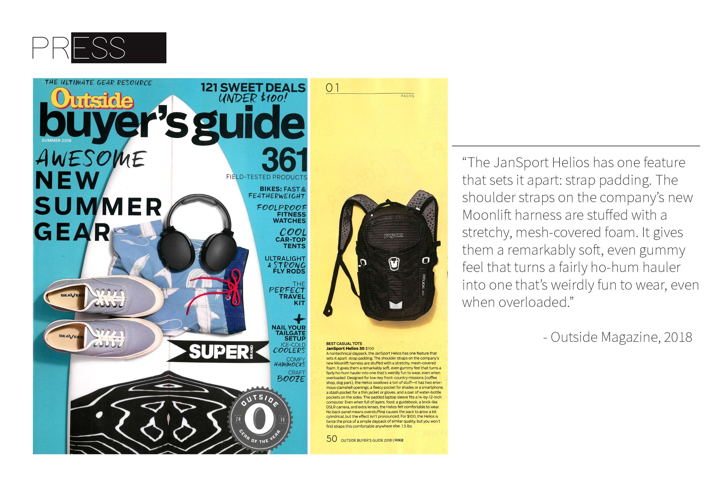 Moonlift Shoulder Strap Design Outside Magazine