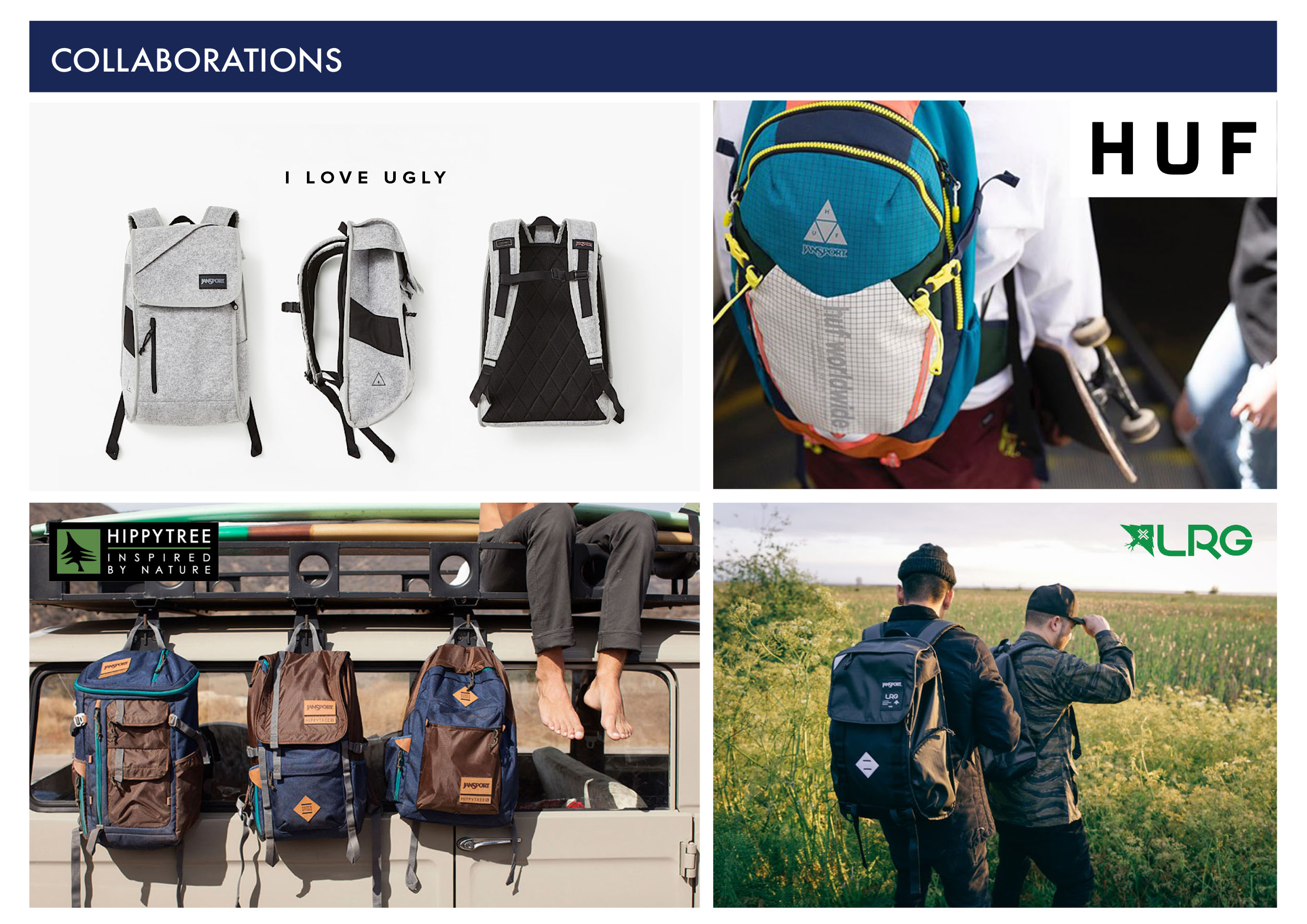 Jansport Senior Product Developer  Collaborations