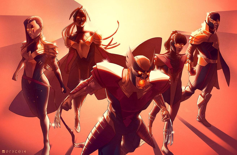 Psylocke design by Kris Anka.