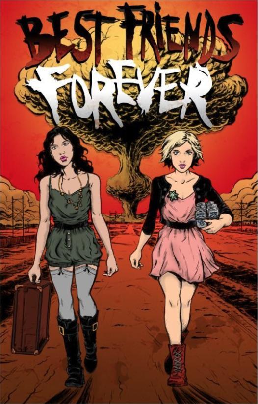 Brea Grant and Vera Miao in comic book form.