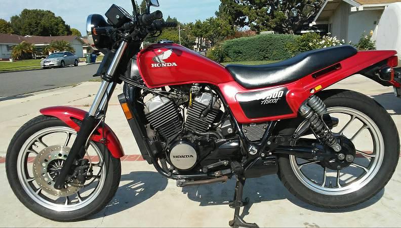 Custom Honda VT500 Ascot   Motorcycle, Honda, Motorcycle