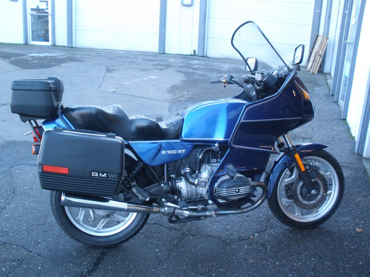 1990 BMW R100RT Low Miles - $4500 — Select Moto