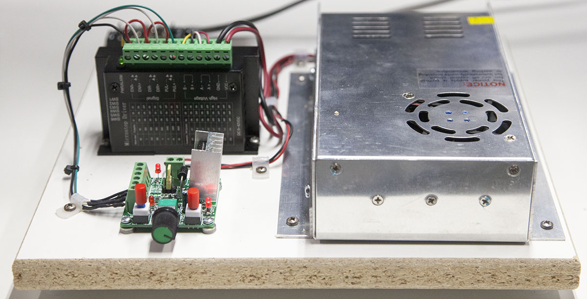 Building a Stepper Motor Tester