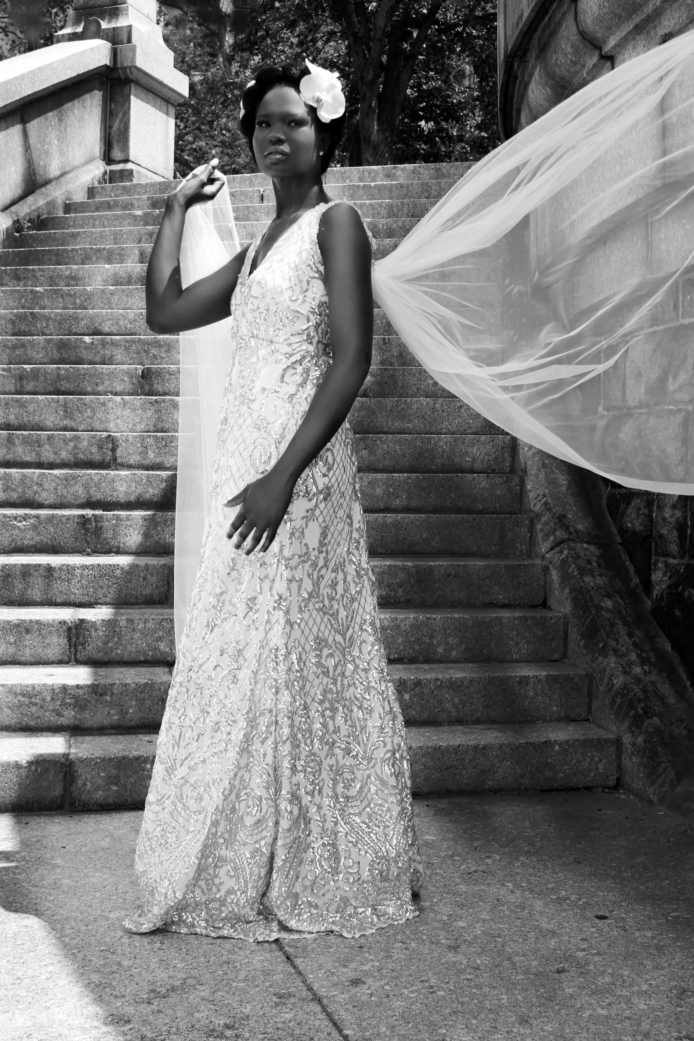 9_filigree cathedral train gown bw.jpg