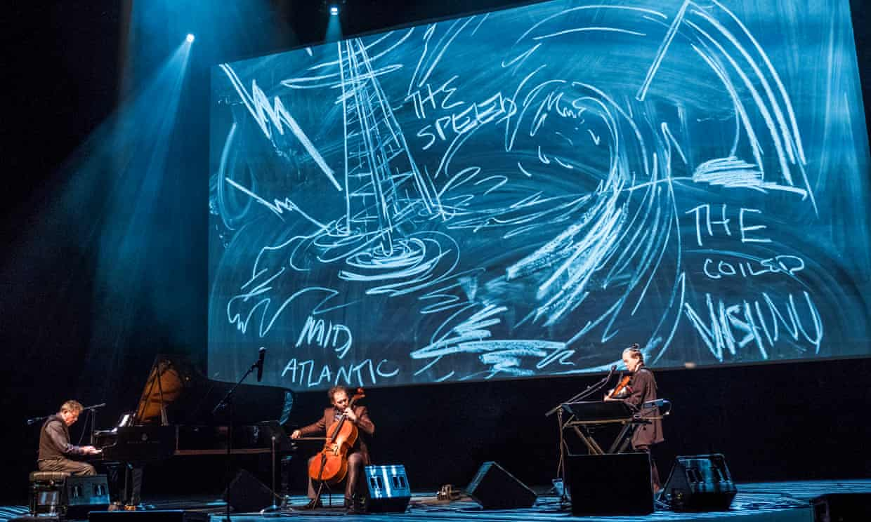Rubin performs American Style with Philip Glass and Laurie Anderson.