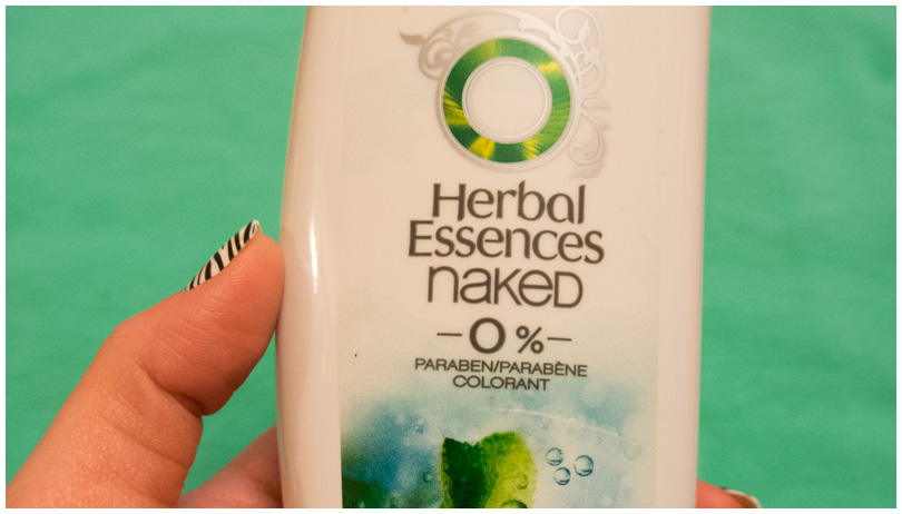 Herbal Essences Naked - Paraben Free!