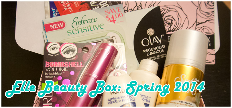 Elle Beauty Box: Spring 2014