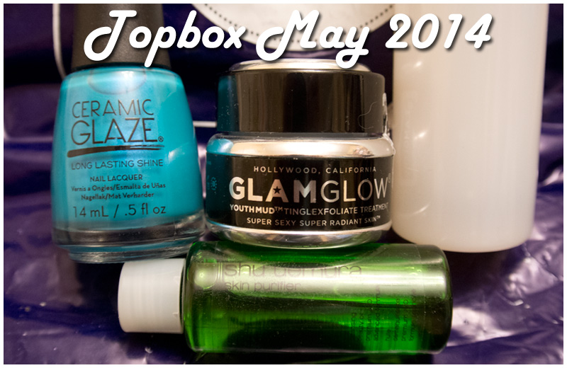 Topbox May 2014 Glamglow Privé