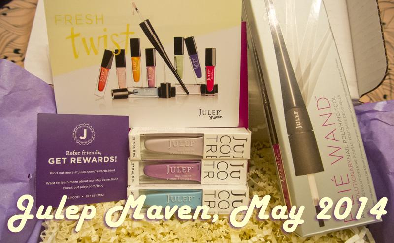 Julep Maven, May 2013 Fresh Twist Boho Glam Box