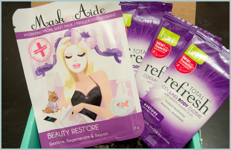 MaskerAide Beauty Rest'ore & Ban Total Refresh Cooling Body Cloths