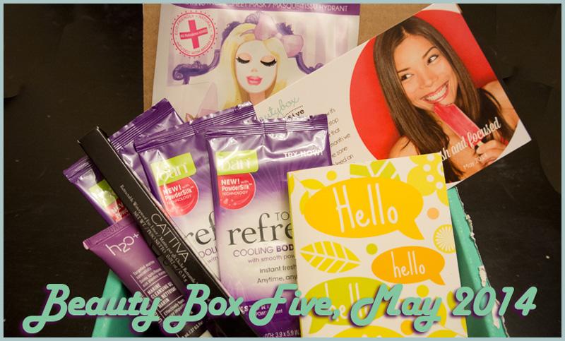 Beauty Box Five, May 2014