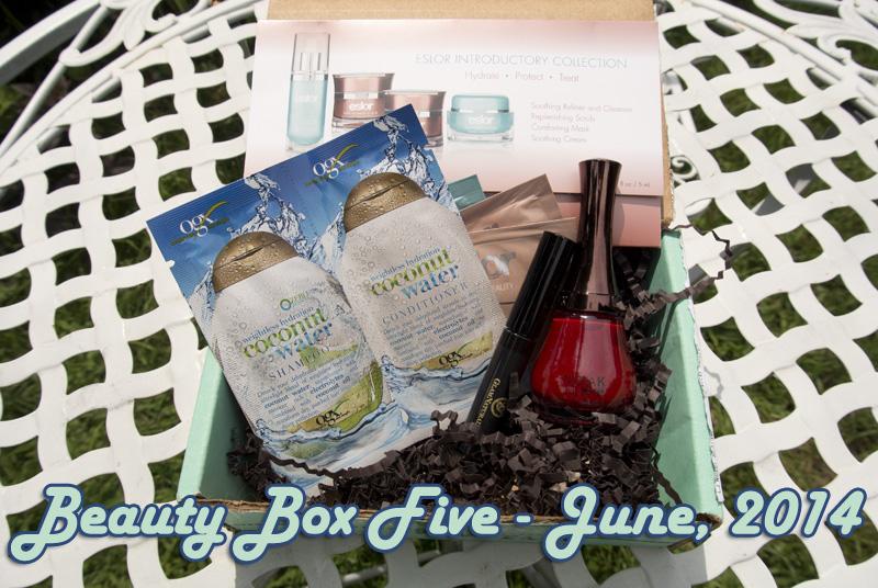 Beauty Box Five, June 2015: Summer Chic