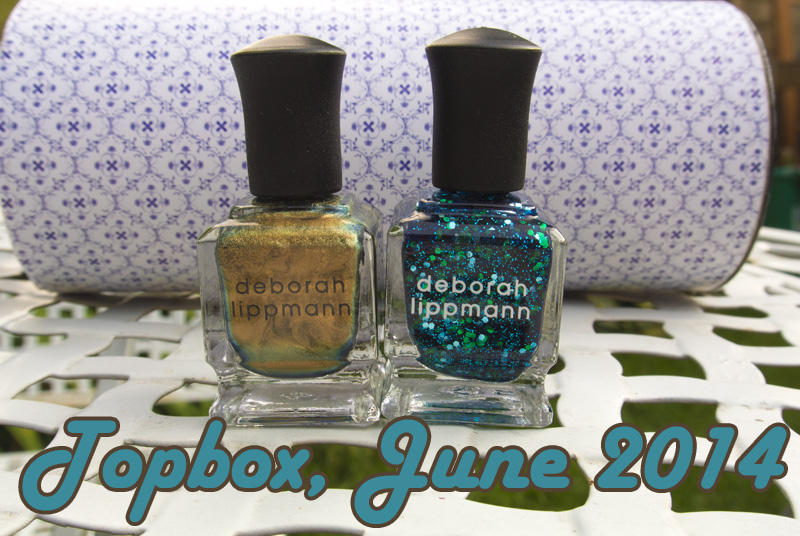 Topbox, June 2014: Deborah Lippmann Swagga Like Us & Across the Universe