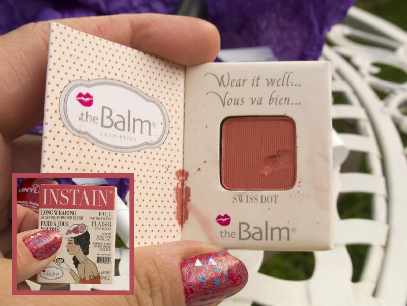 The Balm Cosmetics, Long Wearing Powder Staining Blush - Swiss Dot