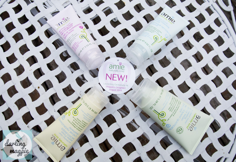 Amie Naturally Kind Skincare Product Line-Up