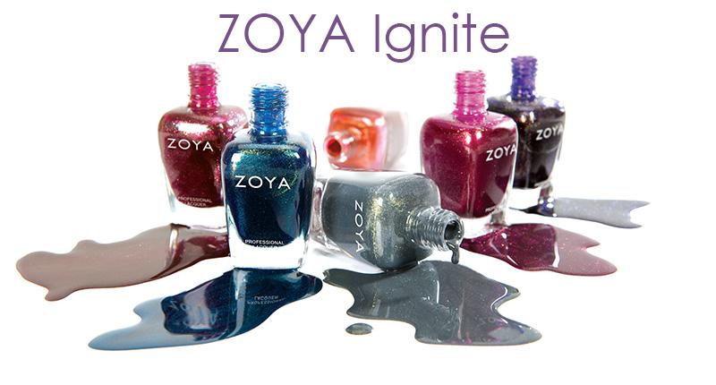 Zoya Nail Polish - Ignite Collection Fall 2014