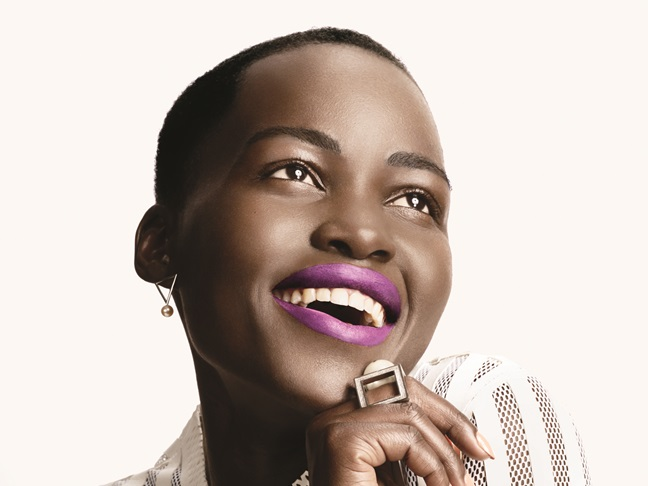 Lupita pretty much wears all the colours of the rainbow!