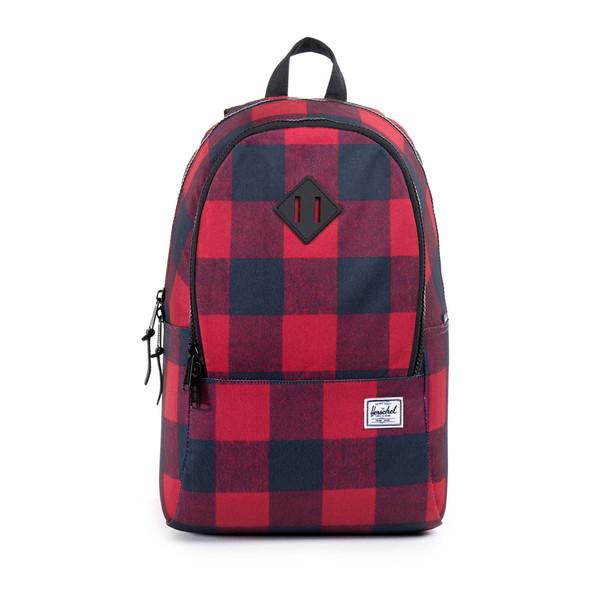 Herschel Supply Nelson Backpack in Buffalo Plaid/Black Rubber