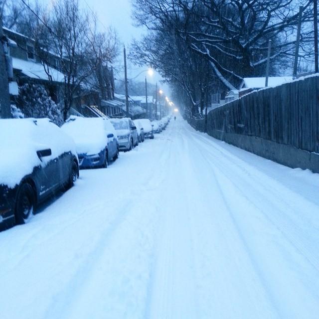 There goes the neighbourhood...