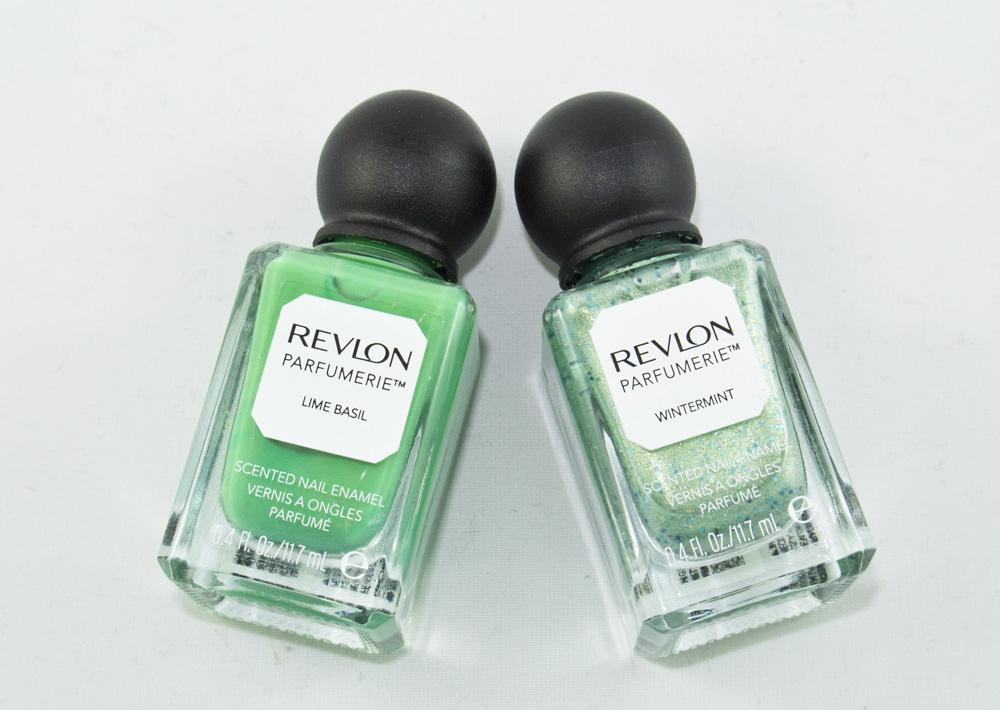 Revlon Lime Basil & Revlon Wintermint