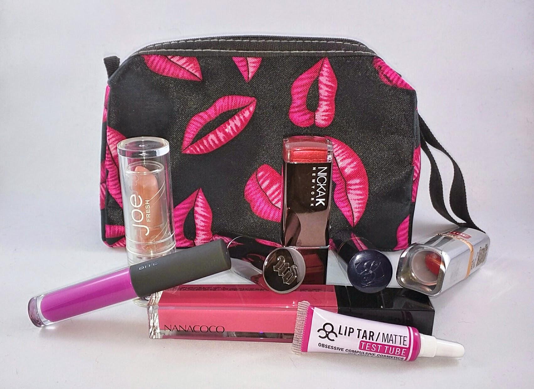 April Lipstick Challenge - Week One