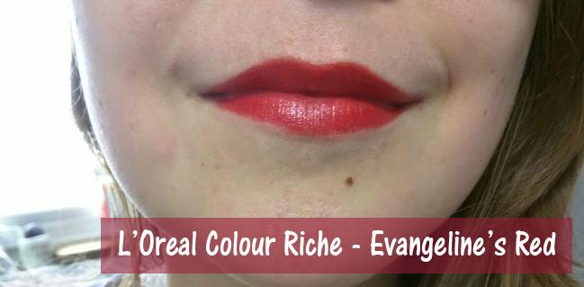 L'Oreal Colour Riche Evangeline's Red