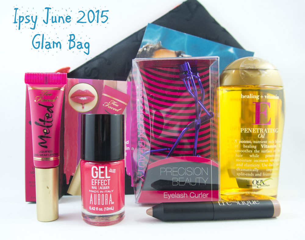 Ipsy June 2015 Glam Bag
