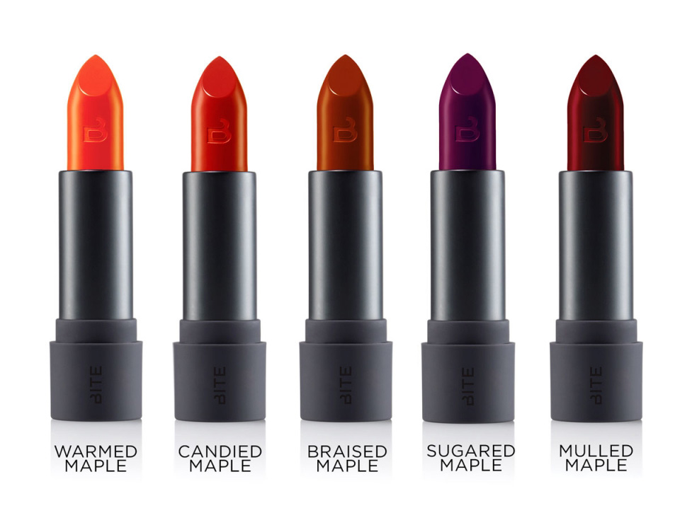 Bite Beauty Maple Matte Crème Lipsticks