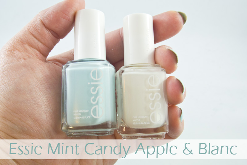 Essie Mint Candy Apple & Blanc