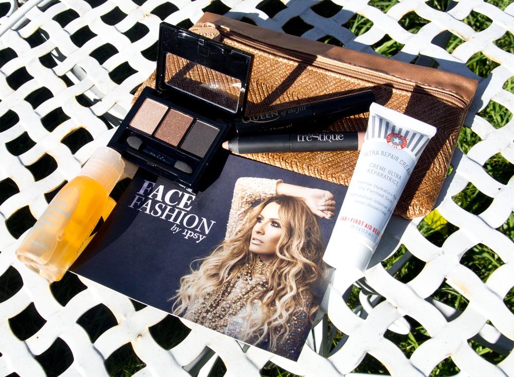 Ipsy September 2015 Glam Bag - Face Fashion