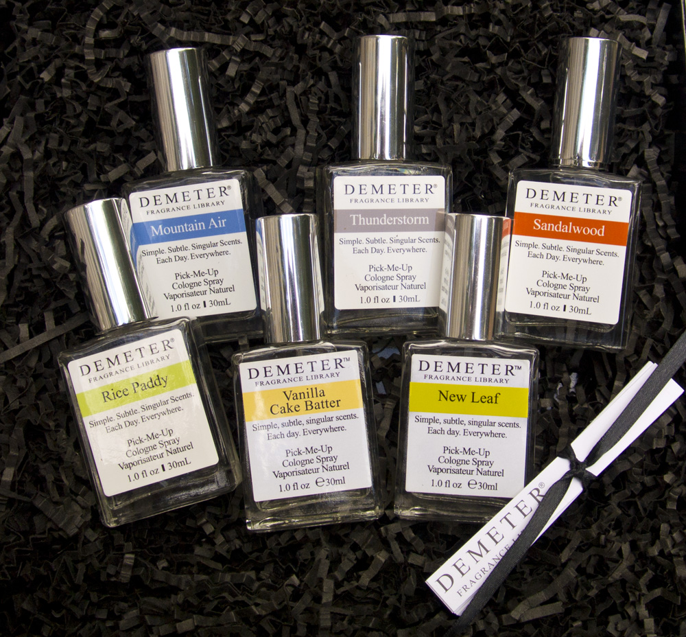 All my Demeter Scent Memory smells!