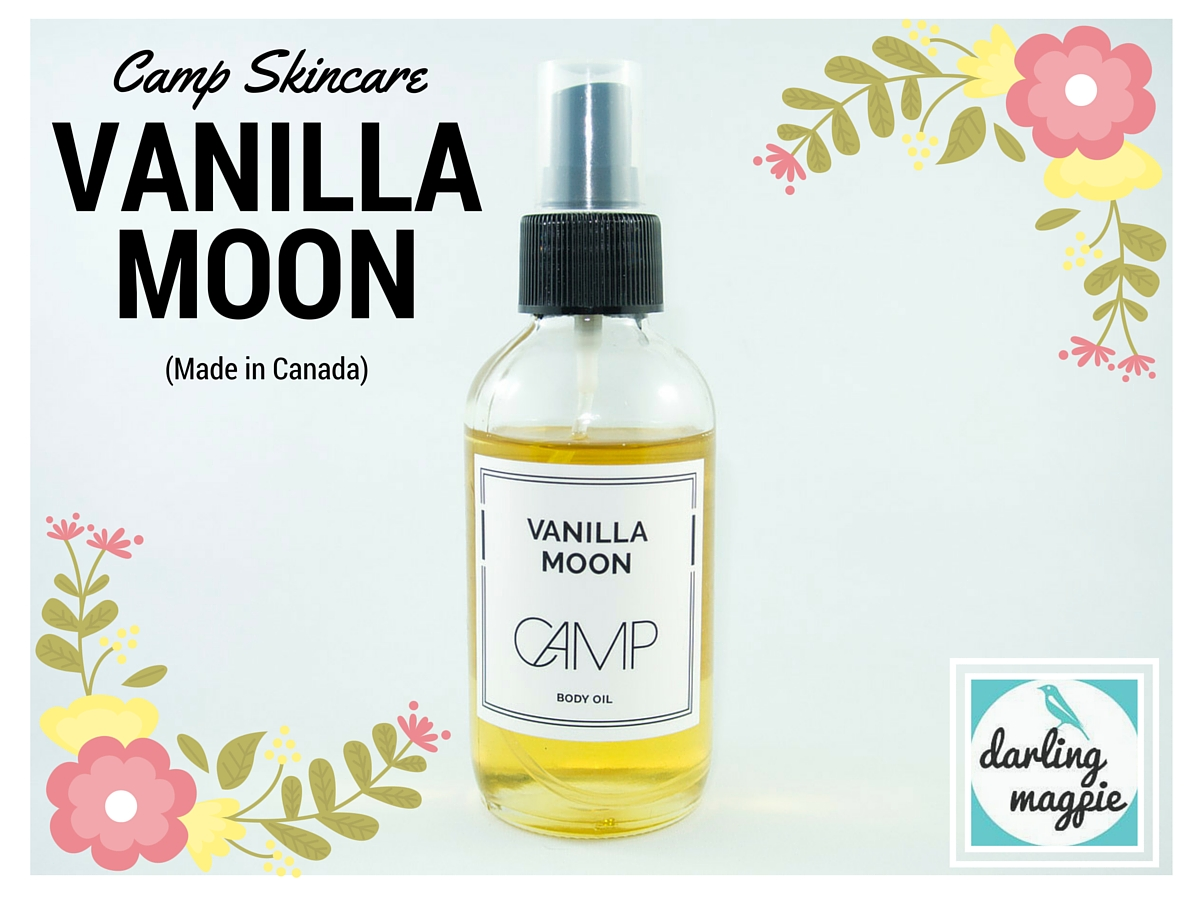 Made in Canada: Camp Skincare, Vanilla Moon