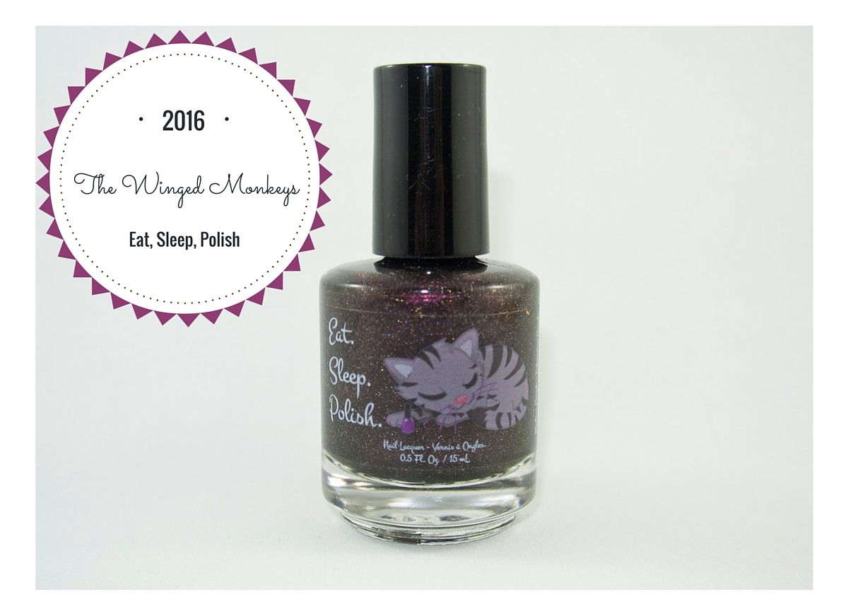 First Mani Monday of 2016? Eat, Sleep, Polish - The Winged Monkeys!